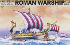 Aoshima Roman Warship 50BC Plastic Model Sailing Ship Kit 1/350 Scale #43165