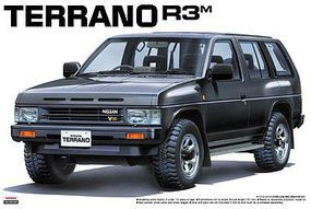 Aoshima 1991 Nissan Pathfinder SUV Plastic Model Car Kit 1/24 Scale #44155