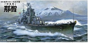 Aoshima Ironclad Japanese Heavy Cruiser Nachi Plastic Model Military Ship Kit 1/350 Scale #44254