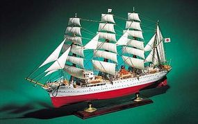 Aoshima Kaiwo Maru Plastic Model Sailing Ship Kit 1/150 Scale #44742