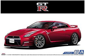 Aoshima 2014 Nissan R35 GT-R Pure Edition 2-Door Car
