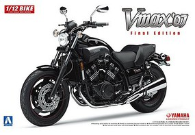 Aoshima 1/12 2007 Yamaha Vmax Final Edition Motorcycle