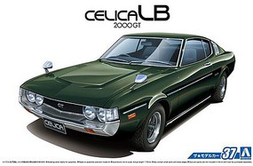 Aoshima 1977 Toyota Celica LB 2000GT 2-Door Car Plastic Model Car Kit 1/24 Scale #53195