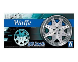 Aoshima 1/24 Leonhardiritt Waffe 20 Tire & Wheel Set (4)