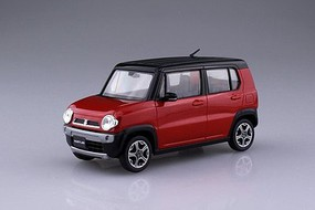 Aoshima 1/32 Suzuki Hustler Car (Snap Molded in Red Pearl)