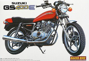 Aoshima Suzuki GSX400E II 1981 Motorcycle Plastic Model Motorcycle Kit 1/12 Scale #54574