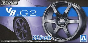 Aoshima 1/24 Volk Racing VR.G2 20 Tire & Wheel Set (4)