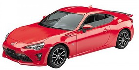 Aoshima 1/32 Toyota 86 Sports Car (Snap Molded in Red)