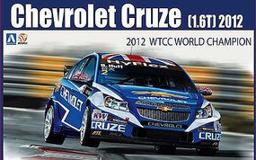 Aoshima Chevrolet Cruze (1.6T) 2012 WTCC World Champion Race Car Plastic Model Car Kit 1/24 #82997