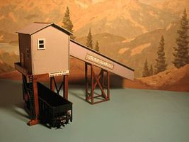 Alpine Black Bart Mine & Shaft Kit HO Scale Model Railroad Building #1905
