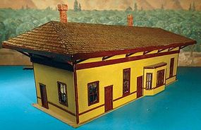 Alpine New Haven Rural Passenger Station Kit HO Scale Model Railroad Building #5804