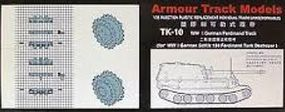Armour 1/35 WWII German Ferdinamel Tracks for SdKfz 184 Tank (D)