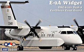 AMP 1/144 E9A Widget/DHC8-106 Dash 8 Caribbean Coast Guard Aircraft