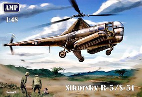 AMP 1/48 R5/S51 USAF Rescue Helicopter