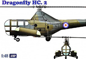 AMP 1/48 Westland WS51 Dragonfly HC2 Rescue Helicopter