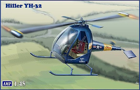 AMP Models 1//48 AMERICAN XH-26 JET JEEP HELICOPTER