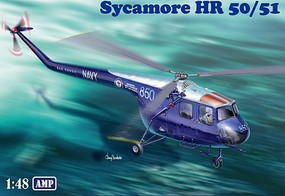 AMP 1/48 Bristol Sycamore HR50/51 Australian Navy Helicopter