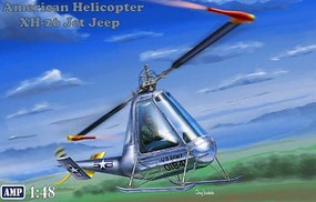 AMP 1/48 Hiller XH26 Jet Jeep American Helicopter
