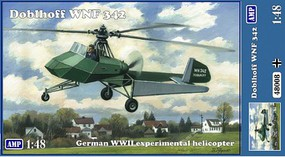 AMP 1/48 Doblhoff WNF342 WWII German Experimental Helicopter (New Tool)