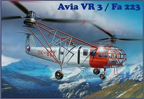 AMP 1/72 Avia Vr3/Fa223 Transport Helicopter