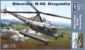 AMP 1/72 Sikorsky H5G Dragonfly Helicopter (New Tool)