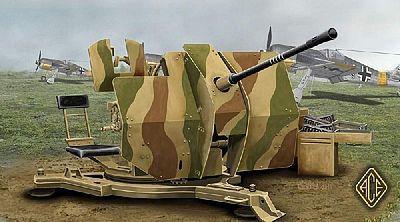 20mm Flakvierling 38-1:48 Tamiya 32554