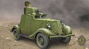 Ace FAI-M Soviet Light Armored Car Plastic Model Military Vehicle Kit 1/48 Scale #48107