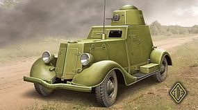 Ace Ba20 Late Production Light Armored Car Plastic Model Armored Car Kit 1/48 Scale #48109