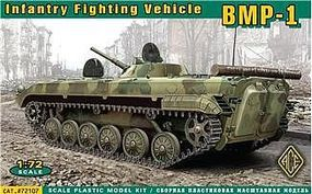Ace Soviet BMP1 Infantry Fighting Vehicle (Re-Issue) Plastic Model Military Vehicle 1/72 #72107