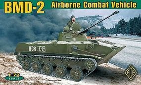 Ace BMD2 Soviet Airborne Combat Vehicle Plastic Model Military Vehicle 1/72 Scale #72115