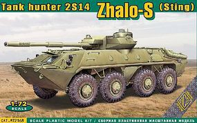 Ace 2S14 Zhalo-S (Sting) Tank Hunter Plastic Model Military Vehicle Kit 1/72 Scale #72168