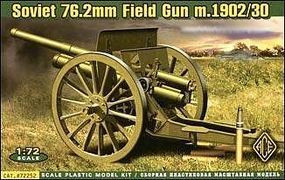 Ace Soviet 76.2mm Mod. 1902/1930 Field Gun w/Limber Plastic Model Artillery Kit 1/72 #72252