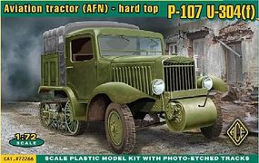 Ace P107 U304(f) Aviation Tractor (AFN) Plastic Model Personnel Carrier Kit 1/72 Scale #72266
