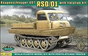 Ace Raupenschlepper Ost Type 1 WWII Tracked Vehicle Plastic Model Military Vehicle 1/72 #72277