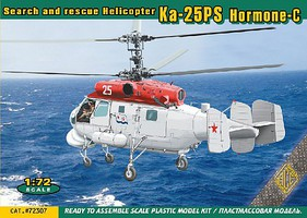 Ace 1/72 Ka25PS Hormone-C Search & Rescue Helicopter (New Tool)