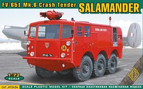 Ace 1/72 FV651 Mk6 Salamander Crash Tender Emergency Vehicle (New Tool)