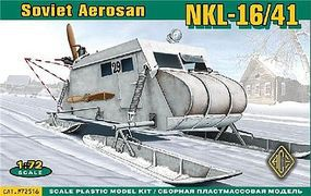 Ace Soviet NKL16/41 Armored Aerosan Plastic Model Military Vehicle Kit 1/72 Scale #72516