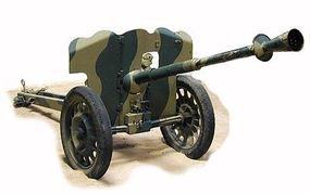 Ace French SAI Mle Mod 1937 25mm Anti-Tank Gun Plastic Model Military Vehicle Kit 1/72 #72522