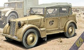 Ace 508CM Colonial Italian Light Car Plastic Model Military Vehicle Kit 1/72 Scale #72548