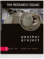 AFV-Modeller The Research Squad- Panther Project Vol.2 Engine & Turret