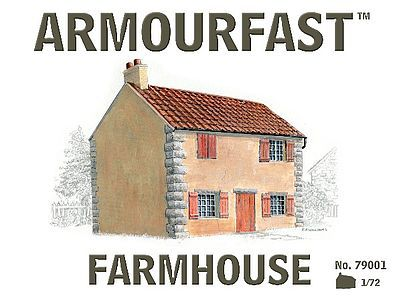 Armourfast 2 Story Farm House Plastic Model Military Diorama Kit 1/72 Scale #79001