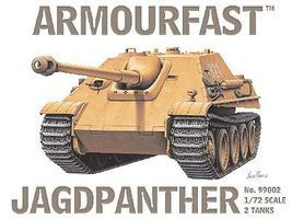 Armourfast Jagdpanther Tank (2) Plastic Model Tank Kit 1/72 Scale #99002