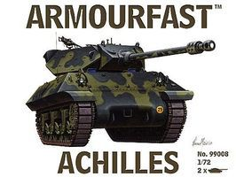 Armourfast Achilles Tank Destroyer (2) Plastic Model Tank Kit 1/72 Scale #99008