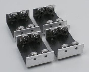 Aristo-Craft Rollers For Stationary Operation - Package of 4 -- G Scale Model Railroad Track -- #11905