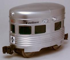 Aristo-Craft Egg Liner Powered -- Santa Fe - G-Scale