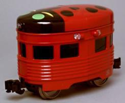 Aristo-Craft Egg Liner Powered -- Lady Bug - G-Scale