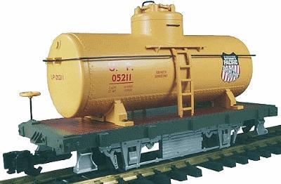 Aristo-Craft 20' 2-Axle ''Shortie'' Tank Car -- Union Pacific - G-Scale