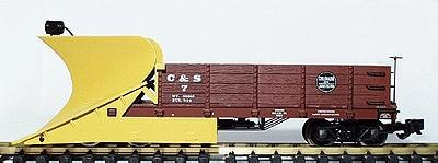 Aristo-Craft Working Wedge Type Snow Plow -- Colorado & Southern - G-Scale