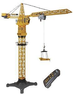 Aristo-Craft 1/30 Scale Construction Equipment -- Remote Control Tower Crane - G-Scale