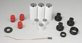 Aerotech E18-7W Reload Kit 24/40 (3) E Reloadable Model Rocket Engine #51807